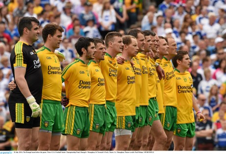 Donegal are at full strength for Sunday's All-Ireland semi-final.