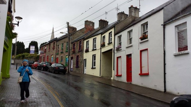 Church Lane improvements in Letterkenny near completion.