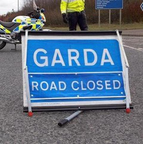 Garda Road Closed