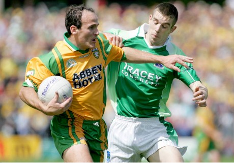 James Gallagher takes on Barry Owens of Fermanagh in 2006.