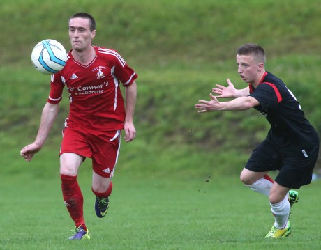 Swilly Rovers frontman Laurence Toland was his side's match-winner in the semi-final against Derry City.