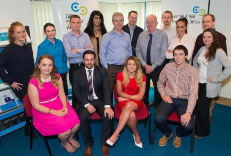 Some of the Donegal finalists who will be attending an intensive Business Boot Camp. Photo: Clive Wasson