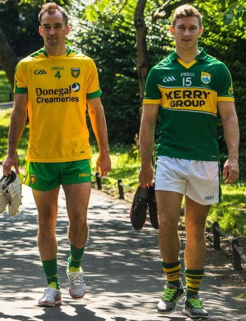 Karl Lacey and James O'Donoghue will wear their first-choice kits in the All-Ireland final.
