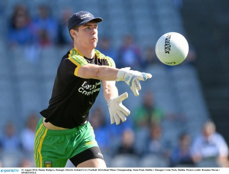 Donegal minor goalkeeper Danny Rodgers