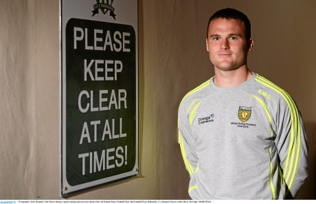 Donegal full-back Neil McGee. Picture credit: Oliver McVeigh / SPORTSFILE