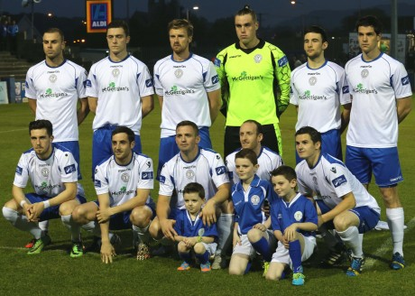 The Finn Harps team who defeated Avondale United to progress to the FAI Cup Semi-Final. Photo: Gary Foy