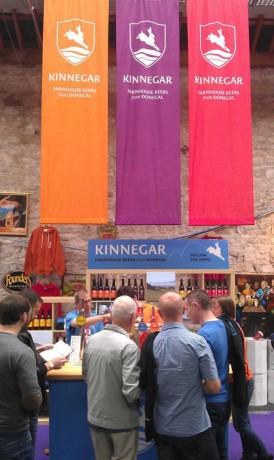 Kinnegar Brewing at Irish Craft Beer Festival