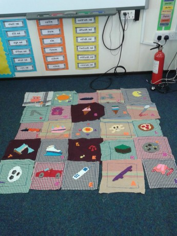 Patchwork Quilt Before