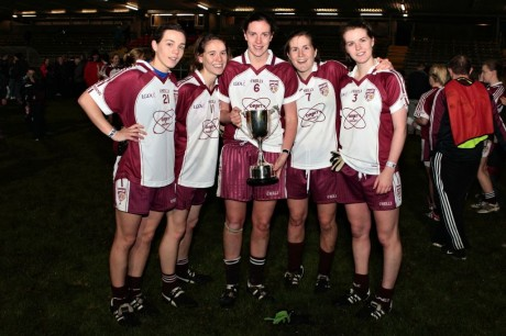 The McCaffertys - Therese, Grainne, Roisin, Olive and Petra
