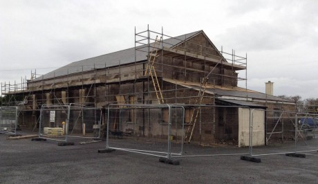 Unforeseen issues have come up during the refurbishment of Cloughaneely Parish Hall.