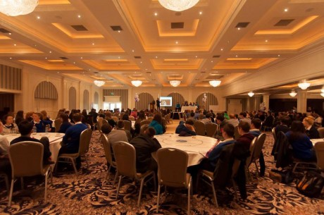 The large crowd at the DYC Agenda Day.