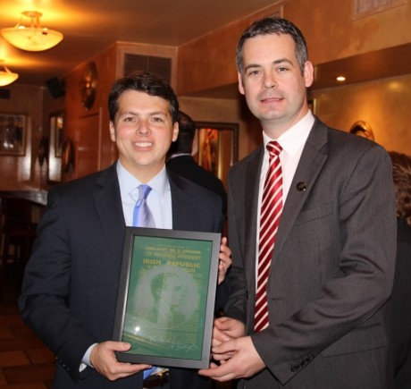 Deputy Doherty's Presentation to Brendan Boyle.