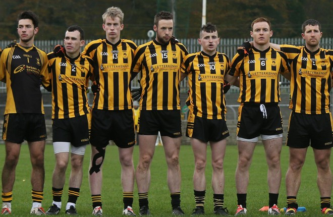 St Eunan's are looking to make it through to the final