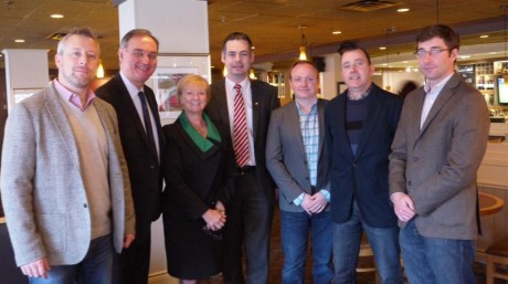 Pearse Doherty Meeting Reps from Ireland Canada Chamber of Commerce