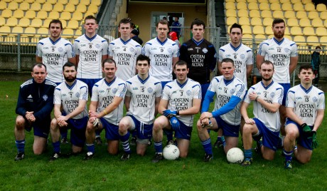 The Cloughaneely side who played Fanad at O'Donnell Park in the semi-final. Photo: Brian McDaid