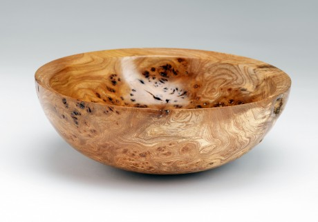 A piece by award-winning wood turner Sheamus McLaughlin.