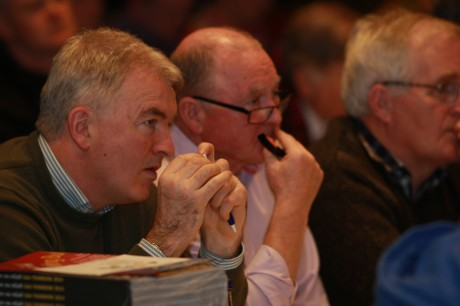 Paul Carr and Charlie McAteer from St Eunan's Club at the convention at the weekend.