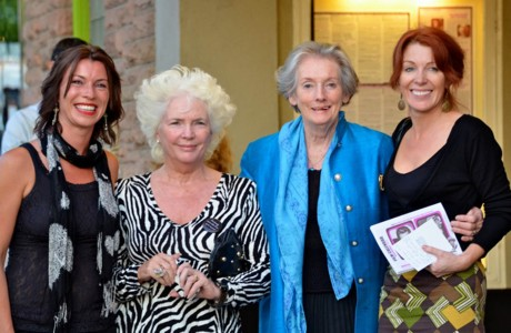 Strong Women - Lisa McLaughlin from Malin (far right) with (l-r) Dungiven native Áine Brolly, Invest NI, Irish screen legend Fionnula Flanagan and Founder of the Galway Film Fleadh Lelia Doolan