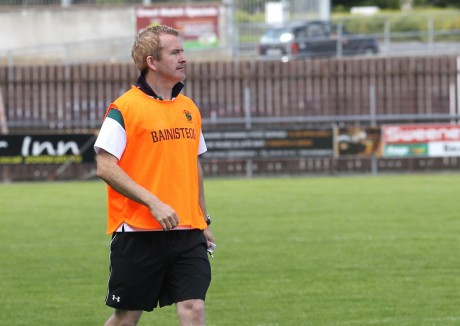 Glenswilly manager Gary McDaid.