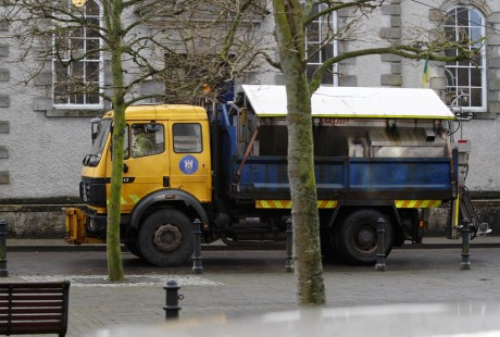 A Donegal County Council gritter.