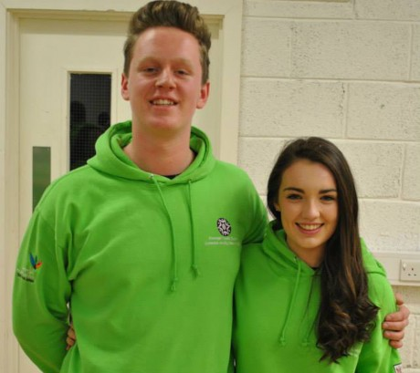 Eamon Connaghan and Emma Rose Callaghan.