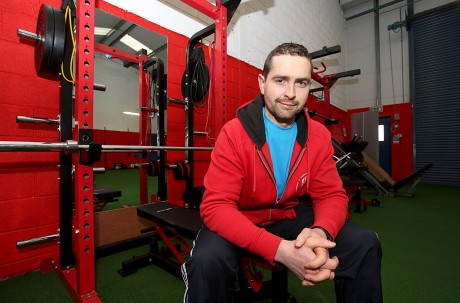 Emmet Rushe, at his new premises, Rushe Fitness. Photo: Declan Doherty
