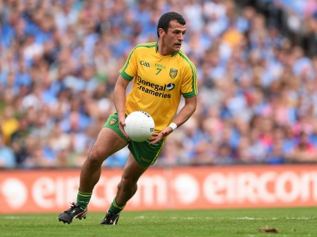 Frank McGlynn is set to return to the Donegal team on Sunday.