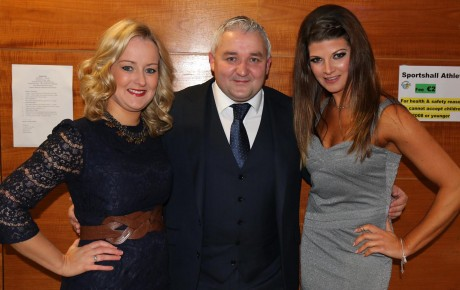Strictly Come Dancing judges, Lisa Mc Kelvey, Pat Shovelin and Emily Bonner in Dungloe at the weekend.