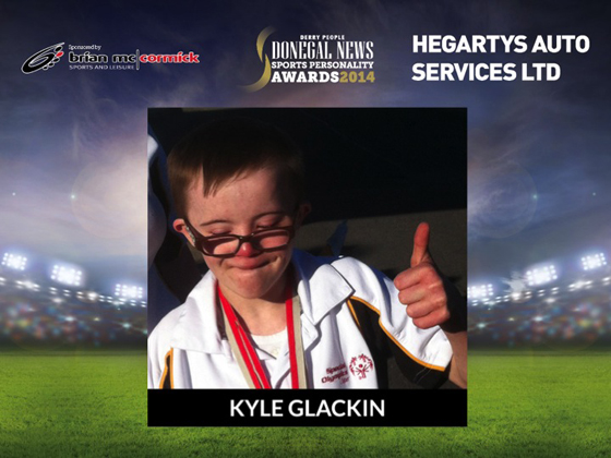 Special Achievement of the Year Kyle Glackin