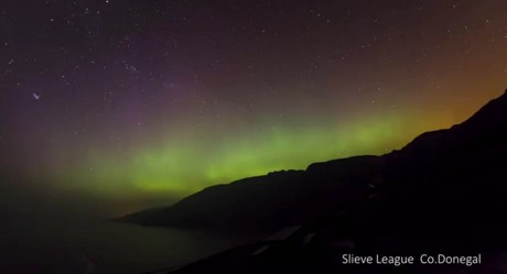 The Northern Lights as captured by Noel Keating Photography.