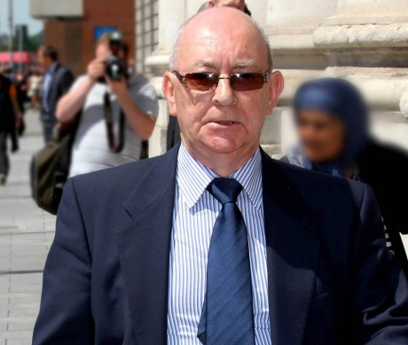 Michael Quigley at an earlier hearing.