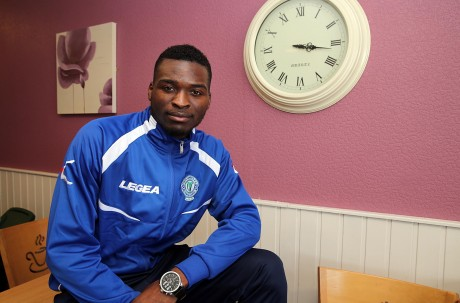 Finn Harps new signing Wilfried Tagbo. Photo: Declan Doherty
