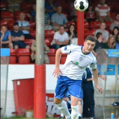 Finn Harps defender Thomas McMonagle