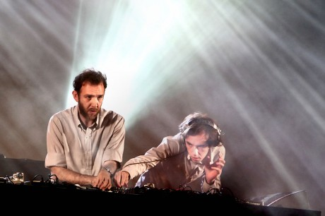 2 Many DJs (Stephen and David Dewaele / Soulwax) at Rock en Seine, August 2007