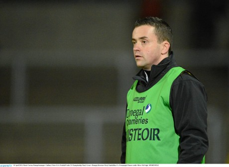 Donegal Under-21 manager Maxi Curran.