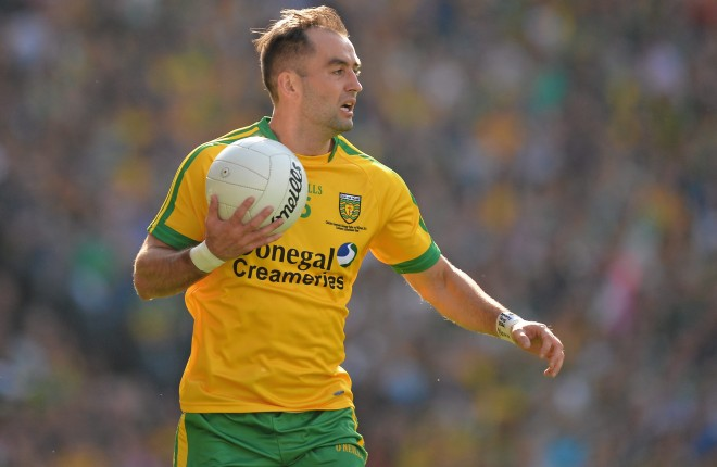 Donegal's Karl Lacey. Photo: Brendan Moran / SPORTSFILE