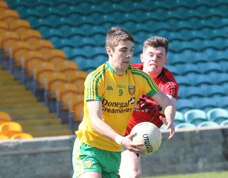 Micheál Carroll, Donegal Minors. Photo: Donna El Assaad