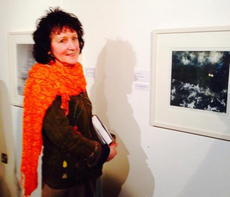 Maura McGlynn scooped the prize of overall winner of the Derek Hill Foundation prize.