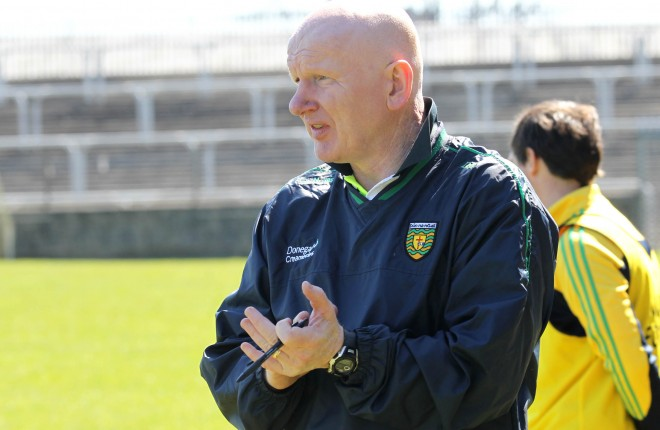 Donegal U21manager Declan Bonner. Photo: Donna El Assaad