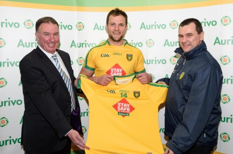 Aurivo and Donegal Team.  Photo- Clive Wasson