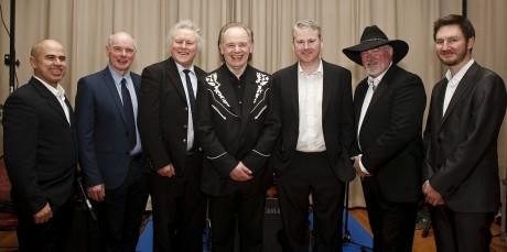 Jimmy Hendry and his seven-piece band.