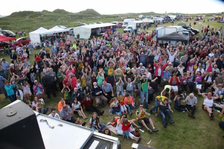 A section of the crowd at last year's Ardara Show.