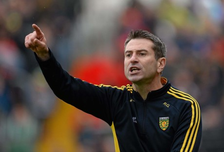 Donegal manager Rory Gallagher.