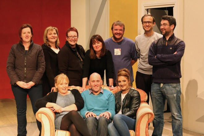 The cast of 'Mother Knows Best' which starts a three night run in the Balor Theatre, Ballybofey, next Tuesday.