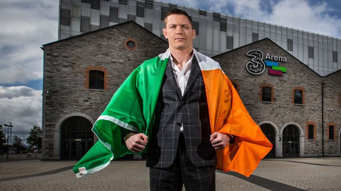 Joseph Duffy at the 3Arena in Dublin.