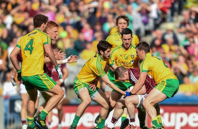 Donegal's senior footballers were ranked fourth best looking GAA team.