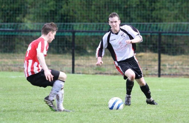 Letterkenny Rovers player Cathal McDaid