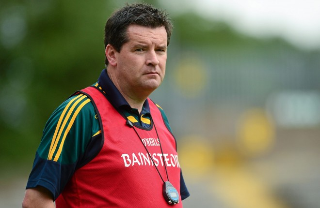 Former Donegal manager, Davy McLaughlin.