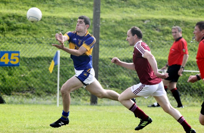 Stephen McBrearty, who will look to fire Kilcar to victory this Sunday. Photo: Donna El Assaad