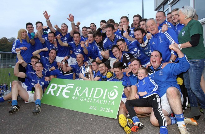 Naomh Conaill celebrate after last year's Donegal SFC Final